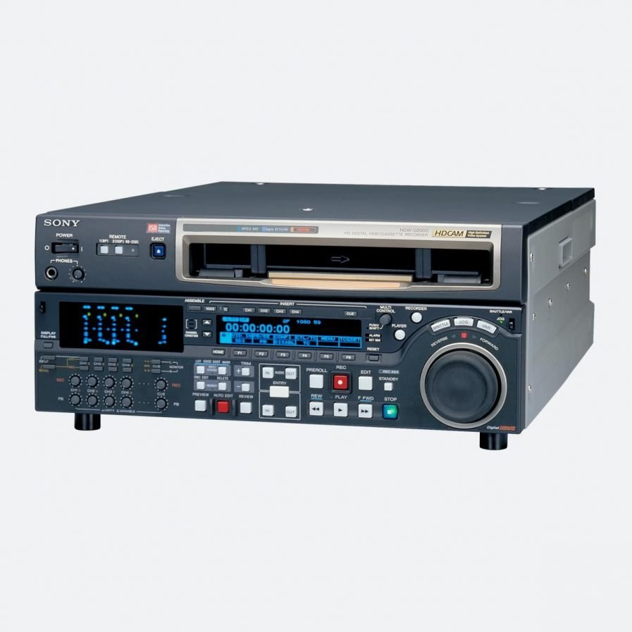 Sony HDW-D2000 Digital Recorder and Player