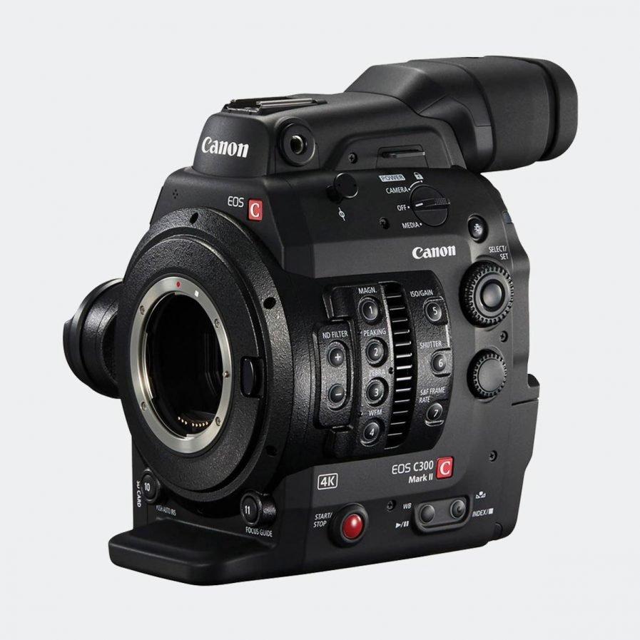 Canon C300 mark II 4K cinematography camera